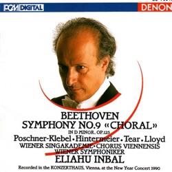 Album: Beethoven Symphony No 9 Choral by Eliahu Inbal Vienna