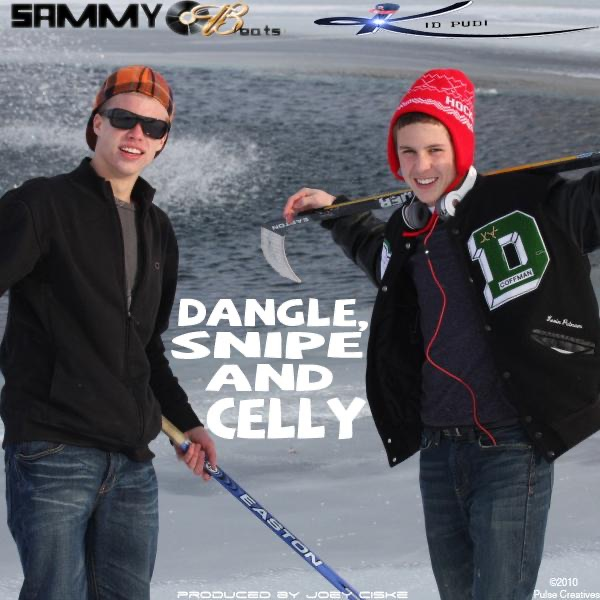Dangle Snipe and Celly feat Kid Pudi - Single Sammy Ob CD cover