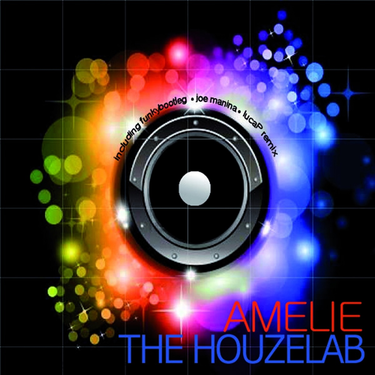 Amelie The Houzelab CD cover