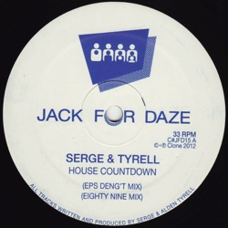 Album: House Countdown Single by Serge Alden Tyrell - Free