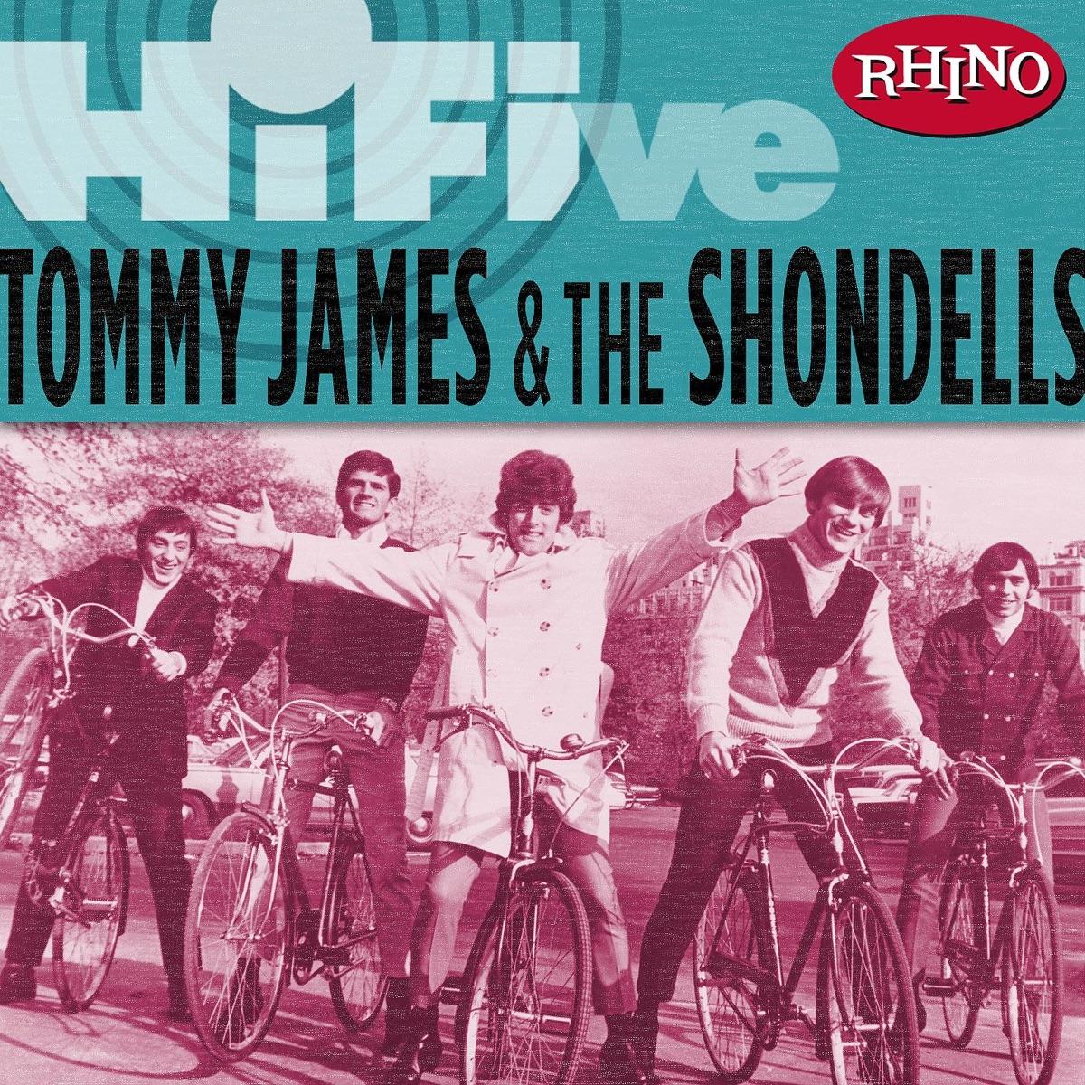Rhino Hi-Five Tommy James  the Shondells - EP Tommy James  The Shondells CD cover