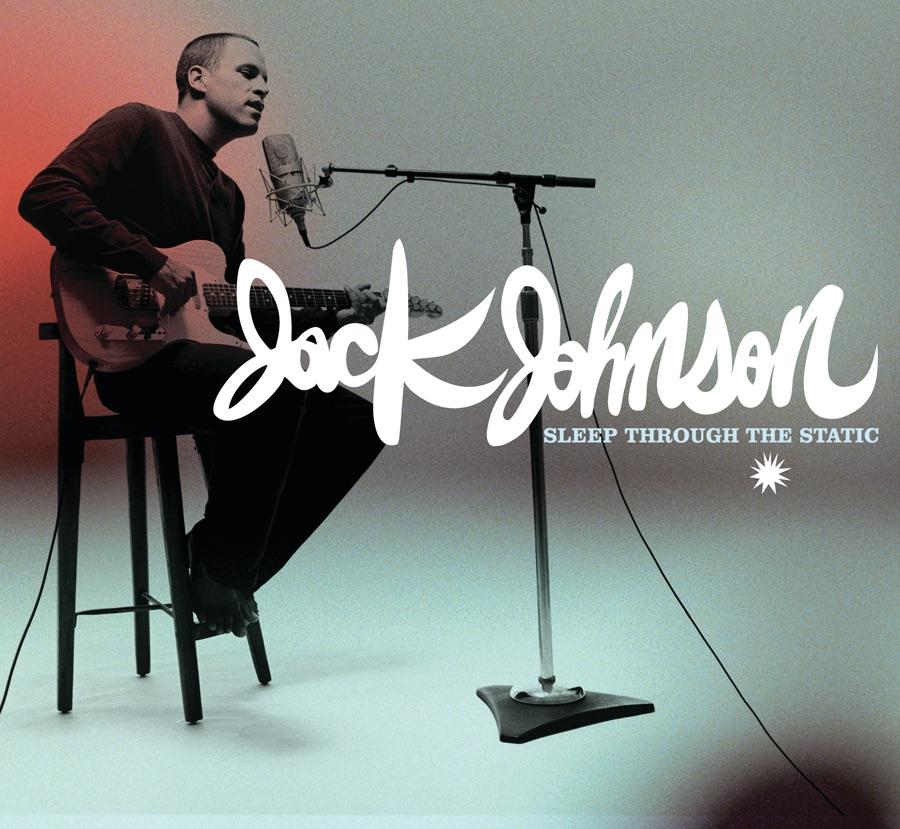 Sleep Through the Static Jack Johnson CD cover