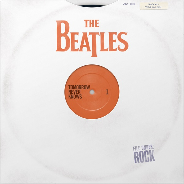 Tomorrow Never Knows The Beatles CD cover