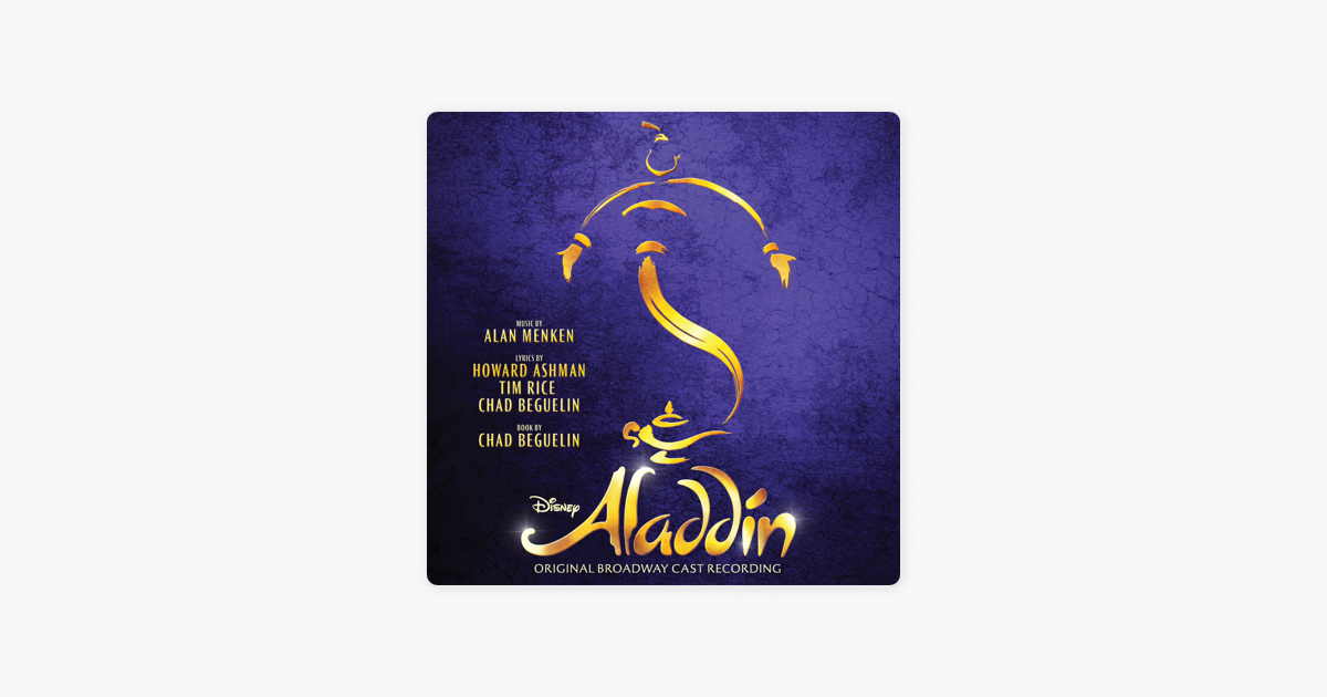aladdin musical broadway soundtrack download