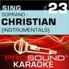 Sing Soprano, Vol. 23 - Inspirational (Karaoke Version)