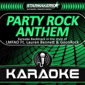 Starmakers Karaoke Band - Party Rock Anthem (Karaoke Backtrack in the style of LMFAO, Lauren Bennett & GoonRock)