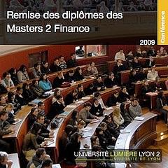Remise des diplômes des Masters 2 Finance