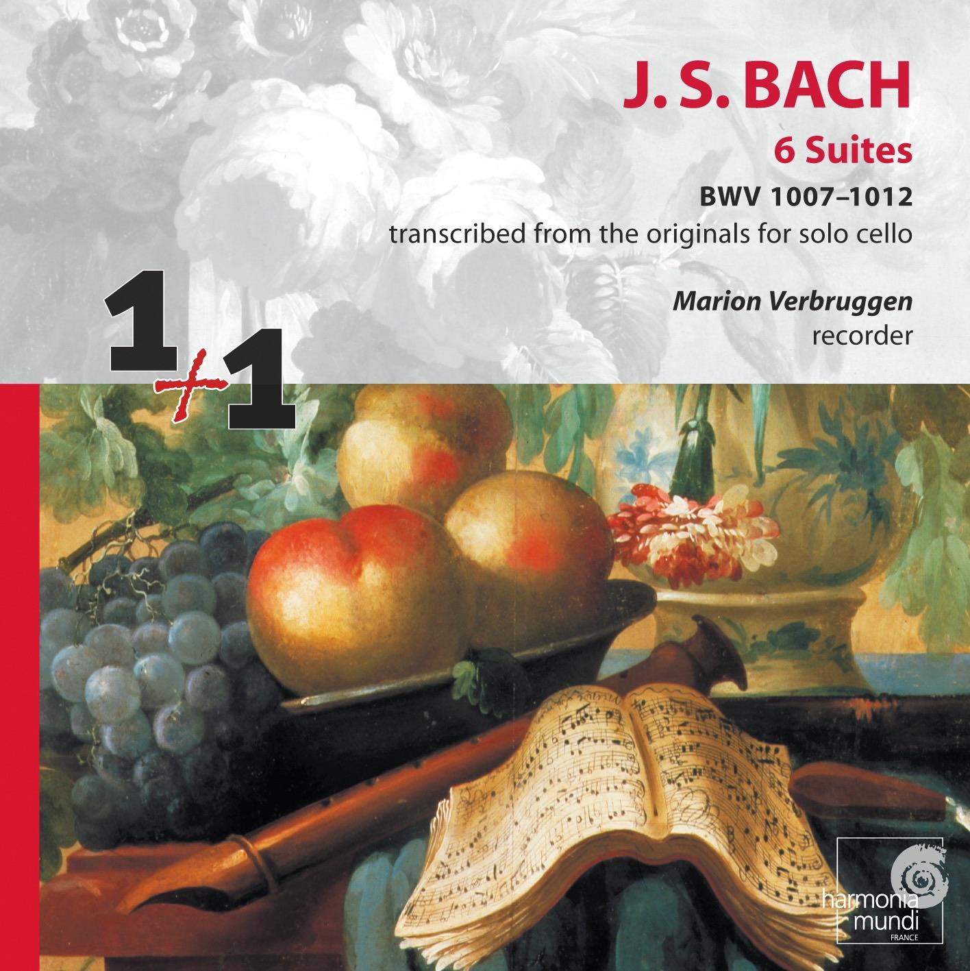 Suite No. 1 in G Major BWV 1007: II. Allemande