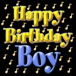 happy birthday song choirの happy birthday boy single をapple