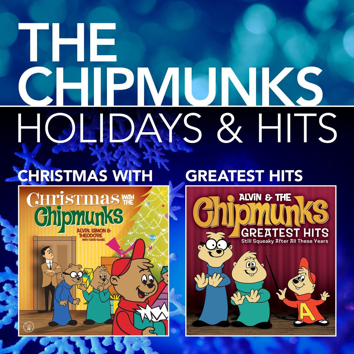 Holidays & Hits Album Cover by The Chipmunks