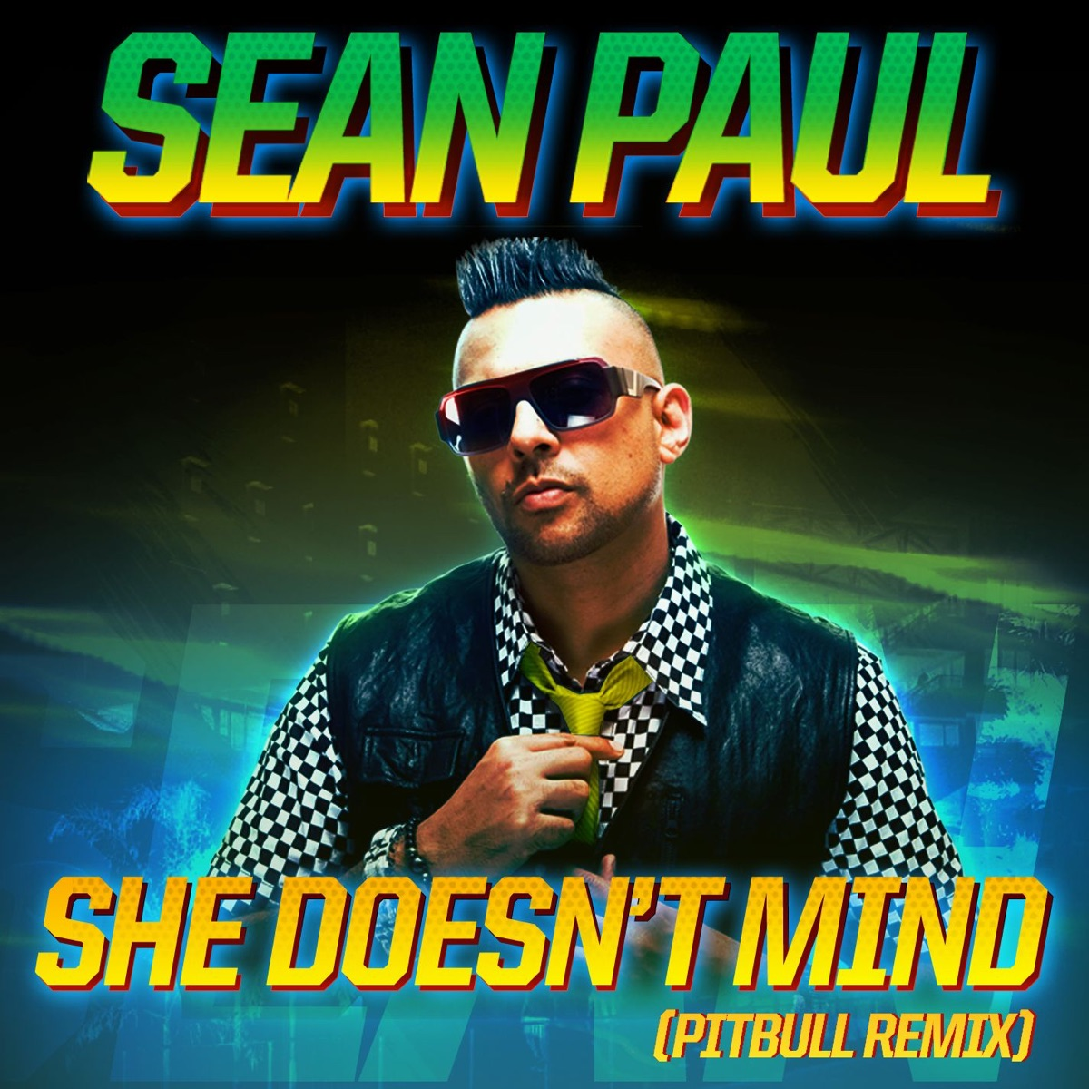 she doesn 39 t mind album cover by sean paul. Black Bedroom Furniture Sets. Home Design Ideas