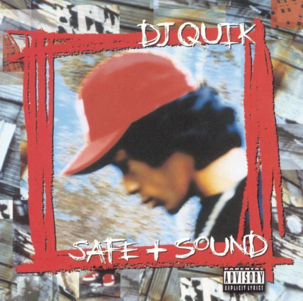 Safe  Sound DJ Quik CD cover