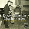 Dizzy Gillespie: Town Hall, New York City, June 22, 1945 ジャケット写真