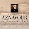 Charles Aznavour au Carnegie Hall