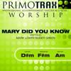 Mary Did You Know - Worship Primotrax - Performance Tracks - Primotrax Worship