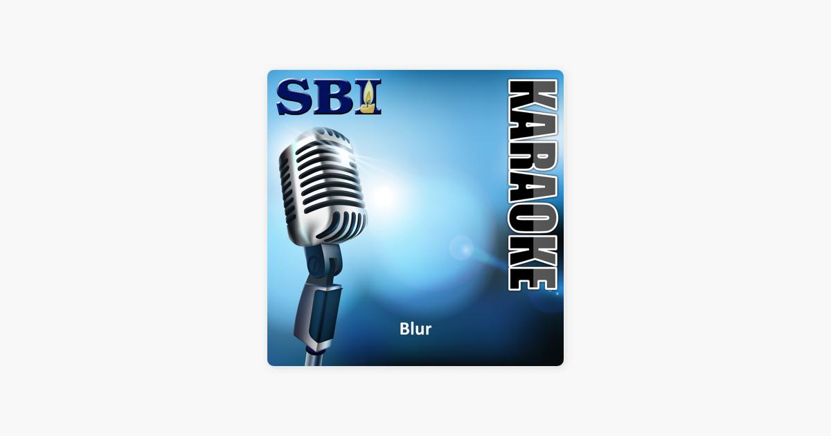 Sbi Gallery Series - Blur by SBI Audio Karaoke