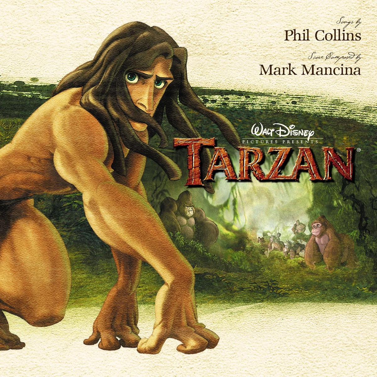 Tarzan Soundtrack from the Motion Picture Phil Collins CD cover