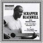 Scrapper Blackwell - Blue'n Whistling (Guitar Solo)
