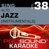 Sing Alto Jazz Vol 38 Karaoke Performance Tracks