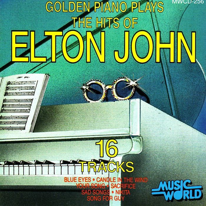 Golden Piano Plays the Hits of Elton John Golden Piano CD cover