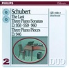 Schubert: The Last Three Piano Sonatas ジャケット写真