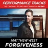 Forgiveness (Performance Tracks) - EP, Matthew West