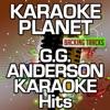 G.G. Anderson Karaoke Hits (Karaoke Planet) - Single ジャケット写真