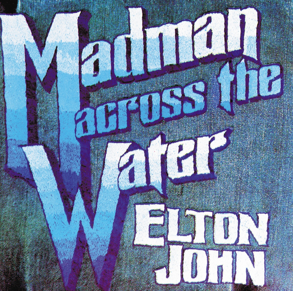 Madman Across the Water Elton John CD cover