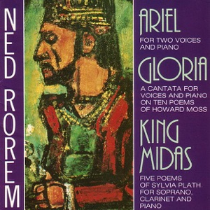 Anne Schein, John Stewart, Ned Rorem & Sandra Walker - King Midas - A Cantata for Voices and Piano on Ten Poems of Howard Moss: X. The King to the Princess, at the River Bank