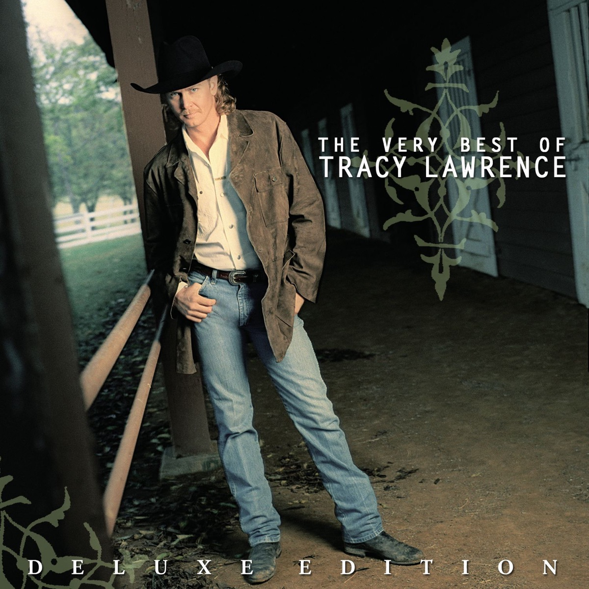 The Very Best of Tracy Lawrence Deluxe Edition Remastered Tracy Lawrence CD cover