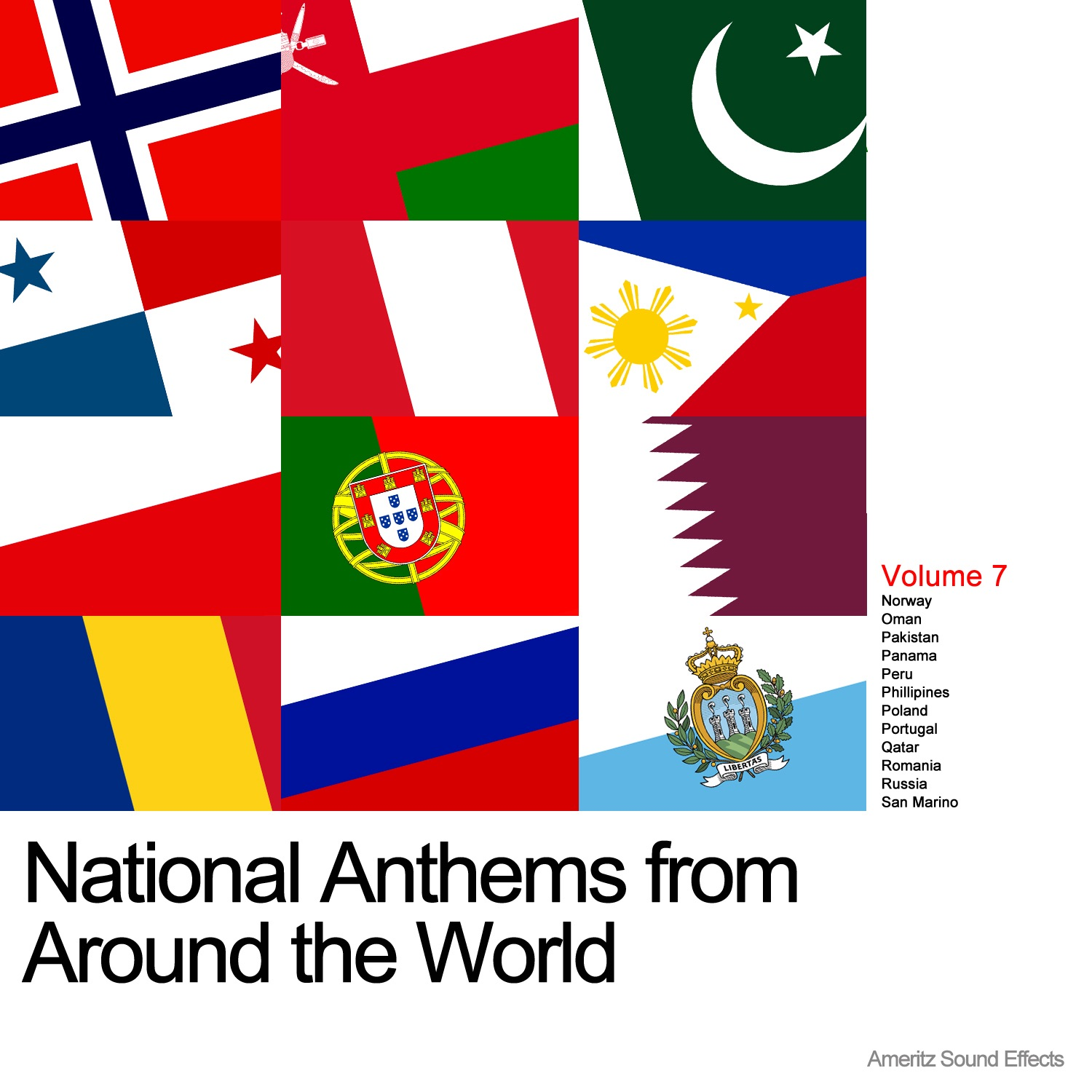 National Anthems from Around the World Vol. 7