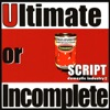 Ultimate or Incomplete (Script Domestic Industry 2) ジャケット写真