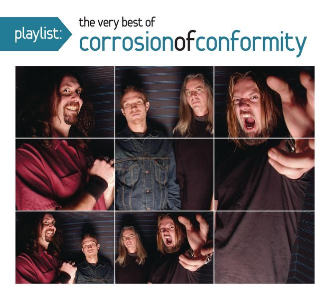 Playlist The Very Best of Corrosion of Conformity Corrosion of Conformity CD cover