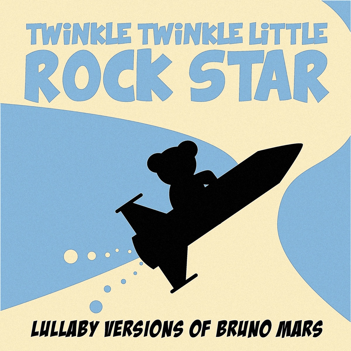 Lullaby Versions of Bruno Mars Twinkle Twinkle Little Rock Star CD cover