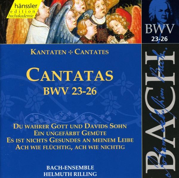 Bach, J.S.: Cantatas, Bwv 23-26