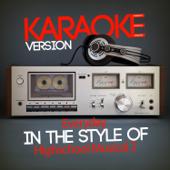 Everyday (In the Style of Highschool Musical 2) [Karaoke Version]