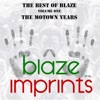 The Best of Blaze, Vol. 1 - The Motown Years ジャケット写真