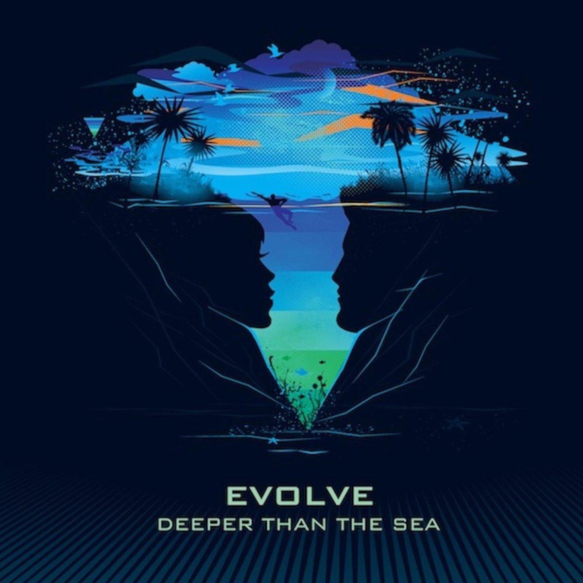 Deeper Than the Sea Evolve CD cover