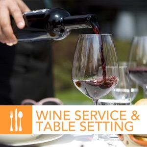 Wine & Table Service