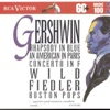 Gershwin Rhapsody in Blue An American in Paris Concerto in F