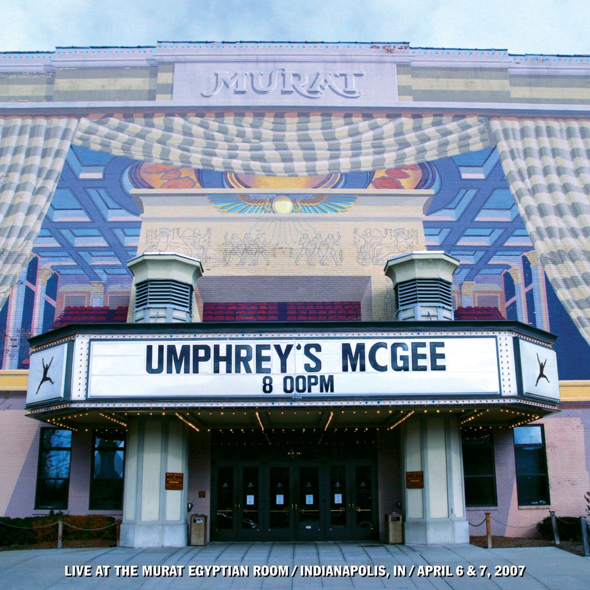 Live At the Murat Umphreys McGee CD cover