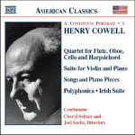 Cheryl Seltzer, Continuum & Joel Sachs - Quartet for Flute, Oboe, Cello and Harpsichord: