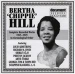 """Bertha """"Chippie"""" Hill 1925-1929"""