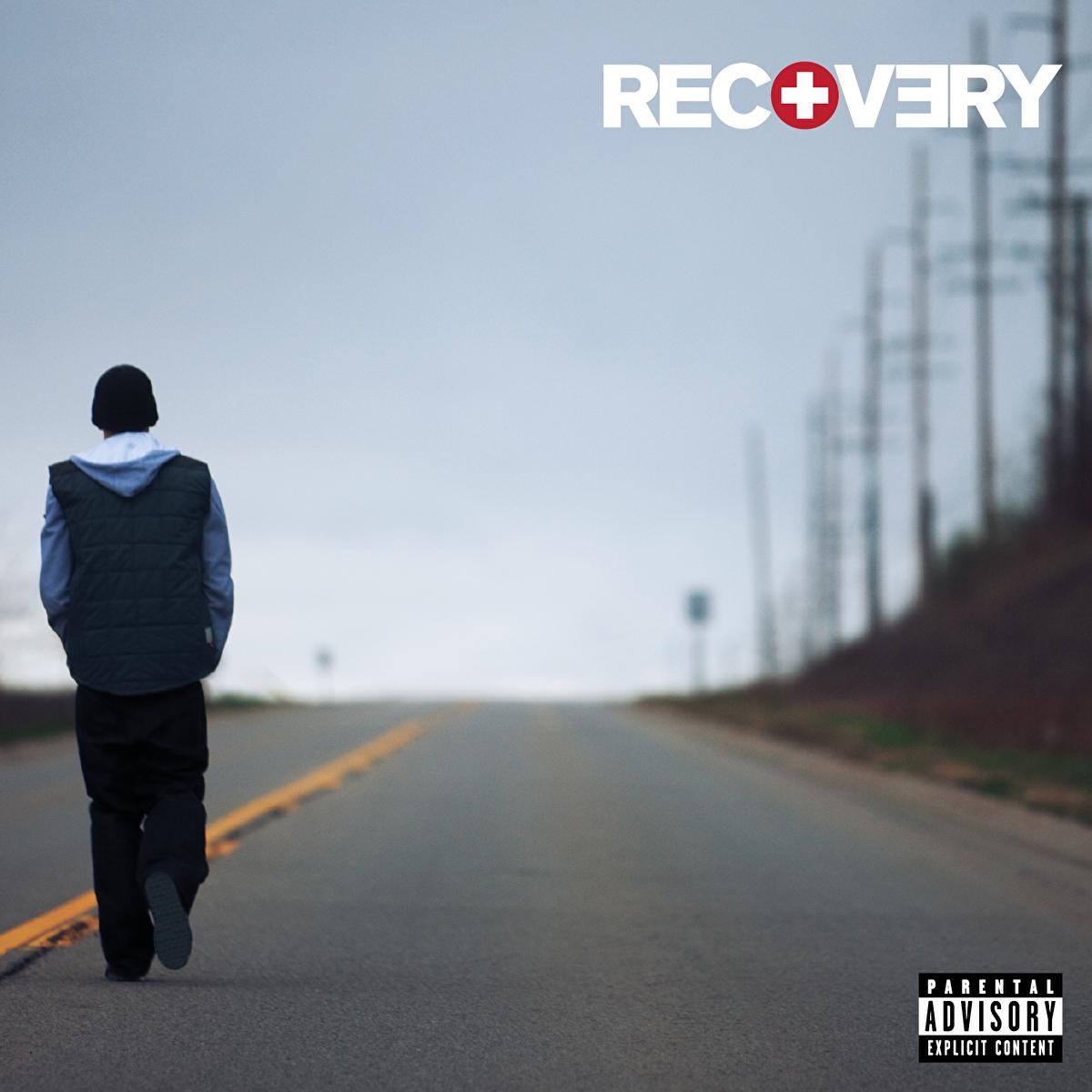 Recovery Deluxe Edition Eminem CD cover