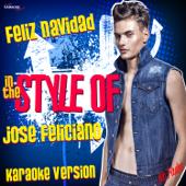 Feliz Navidad (In the Style of Jose Feliciano) [Karaoke Version]
