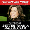 Better Than a Hallelujah (Performance Tracks) - EP - Amy Grant