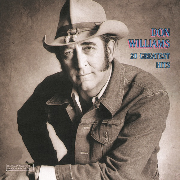 20 Greatest Hits Don Williams album cover
