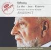 Debussy: La Mer, Jeux & Khamma ジャケット写真