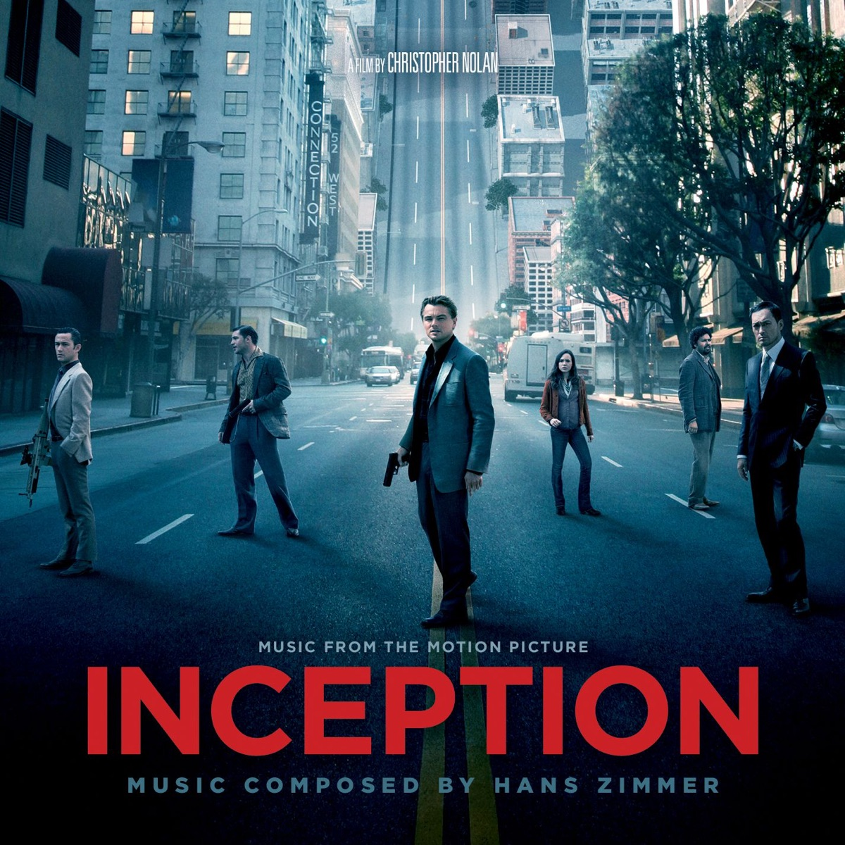 Inception Music from the Motion Picture Hans Zimmer CD cover