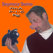 Blue Christmas - Seymour Swine - Seymour Swine